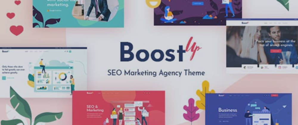 Revisão: BoostUp - Tema Agência de Marketing SEO