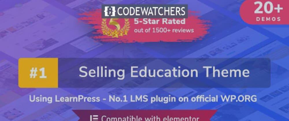 Review: Thème WordPress pour l'éducation | Eduma