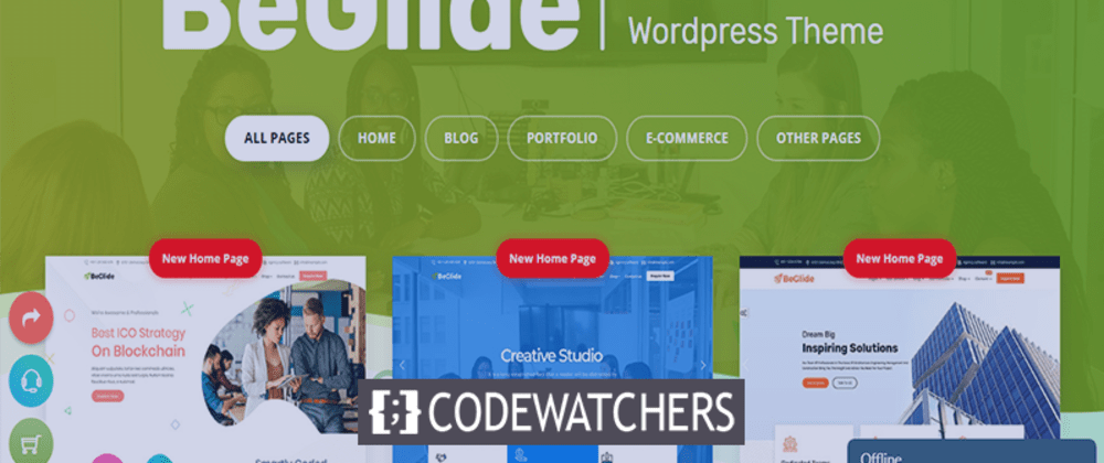 Rückblick: BeGlide - Corporate Business WordPress Theme