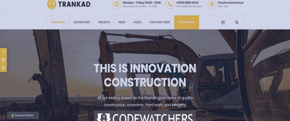 Recensione: Trankad - Temi WordPress per l'edilizia