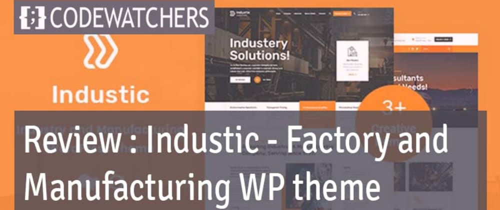 Review: Industic - Thème WordPress pour la fabrication