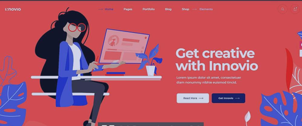 Rückblick: Innovio - Multipurpose Landing Page Theme