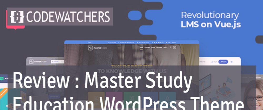 Review: Master Study - Education WordPress Theme