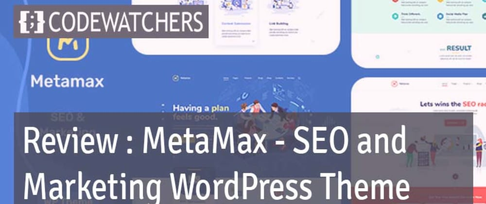 Rückblick: MetaMax - SEO und Marketing WordPress Theme