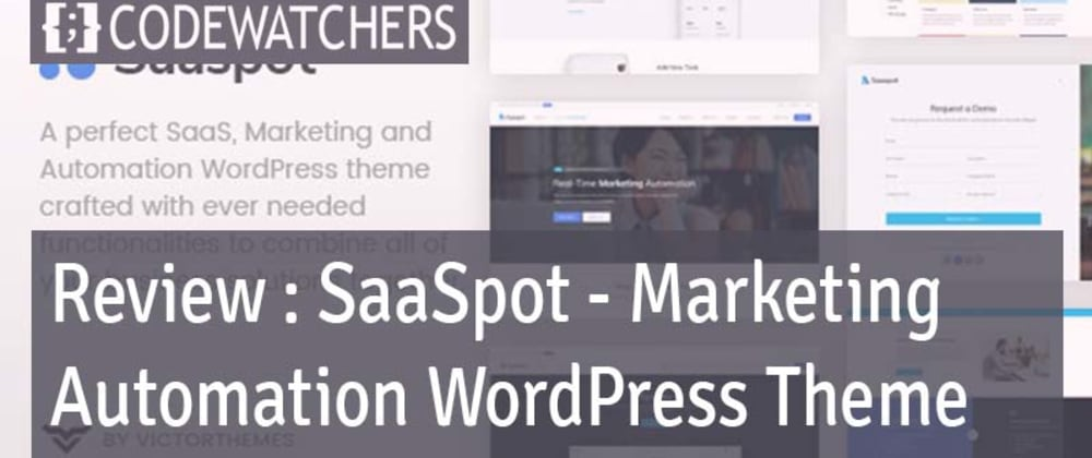 Rückblick: SaaSpot - SaaS Marketing Automation WordPress Theme