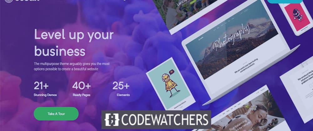 Revisión: Costix - All in One Elementor WordPress Theme