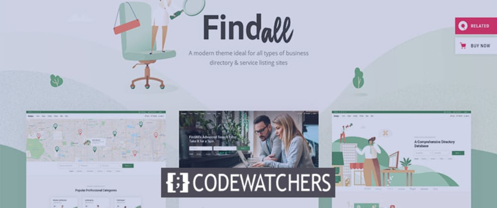 Rückblick: FindAll - Business Directory Theme