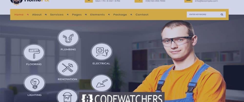 Rückblick: HomeFix - Handwerker und Klempner WordPress Theme