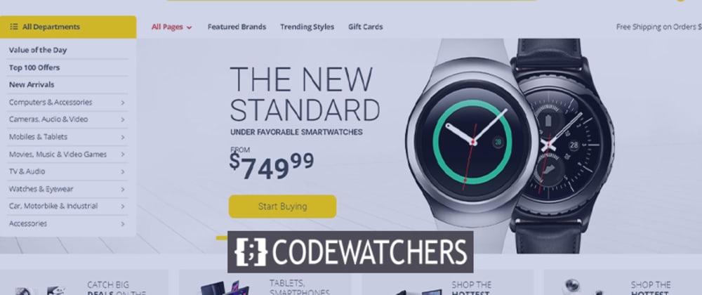 Rückblick: Electro - Electronics Store WooCommerce Theme