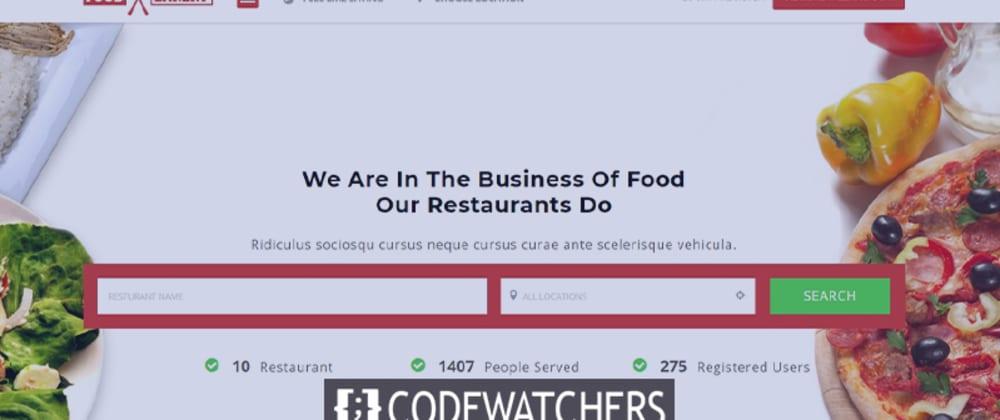 Bewertung: FoodBakery - Food Delivery Restaurantverzeichnis WordPress Theme