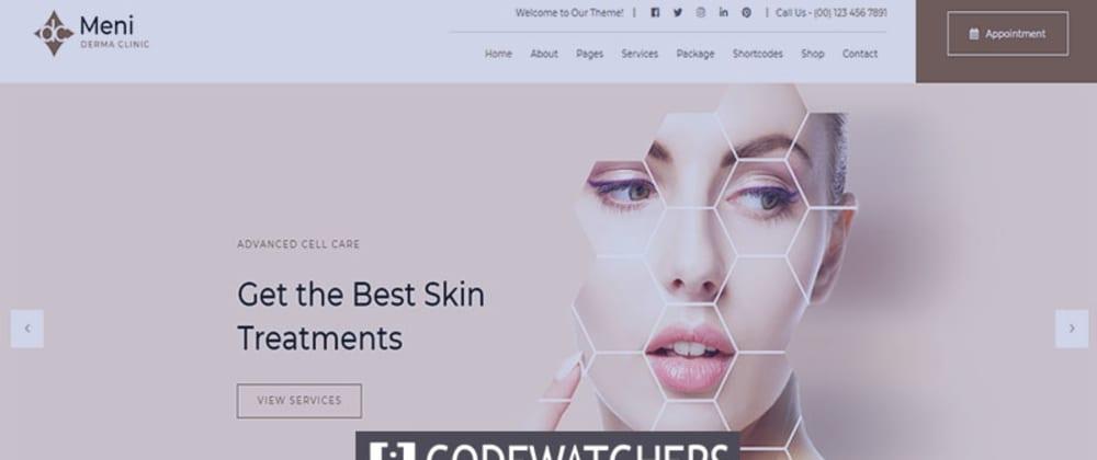 Critique: Meni - Thème WordPress médical Doctor