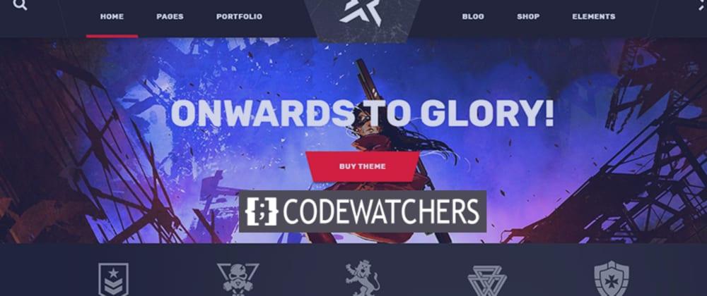 Review: PlayerX - Um tema poderoso para jogos e eSports