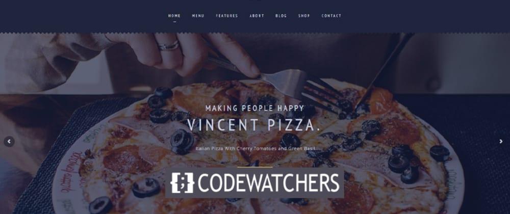 Revisão: Restaurante Vincent tema