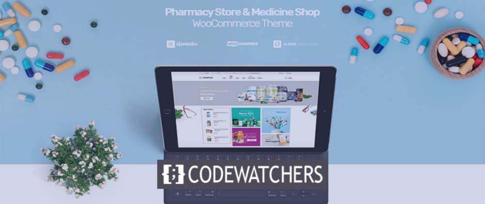 Critique: Medicor - Thème WordPress pour boutique médicale et pharmacie