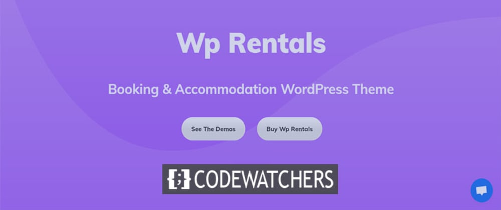 Обзор: WP Rentals - Аренда WordPress Theme