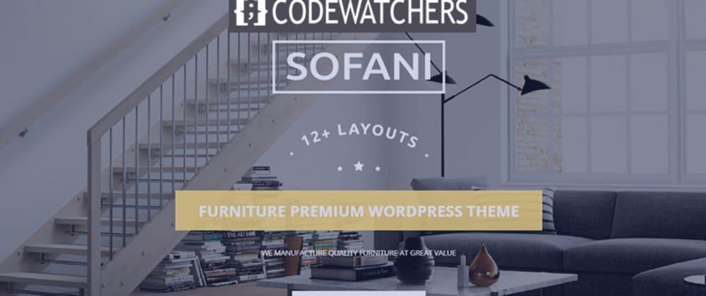 Revisión: Sofani - Tema de WordPress WooCommerce de la tienda de muebles
