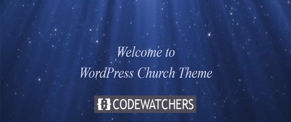 Revisão: Igreja - Tema sem fins lucrativos para WordPress