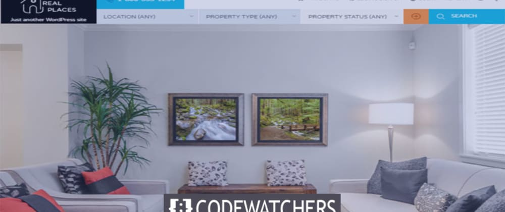 Rückblick: RealPlaces - Immobilienverkauf und Vermietung WordPress Theme