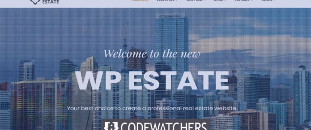 Rückblick: WpEstate - Real Estate WordPress Theme