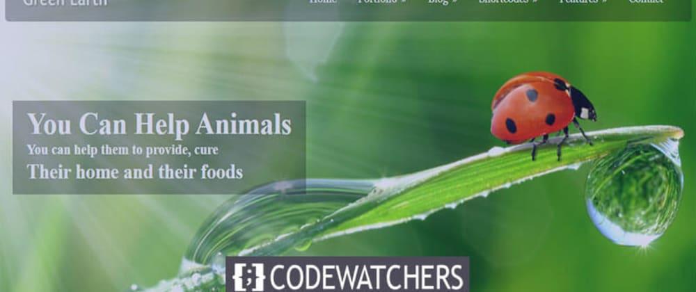 Gözden Geçirme: Green Earth - Çevresel WordPress Teması