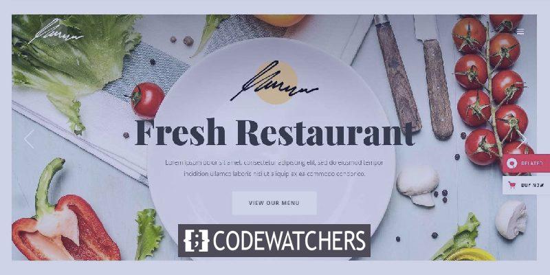 17+ meilleurs thèmes WordPress premium et magnifiques pour le restaurant